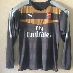 PUMA Arsenal Long Sleeve Goalkeeper Jersey 15/16